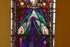 Blessed Virgin  Window, St. Patrick's Church