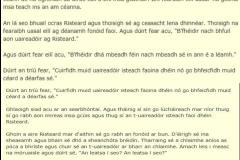 Scéal an Chiardubhánaigh-Gaeilge