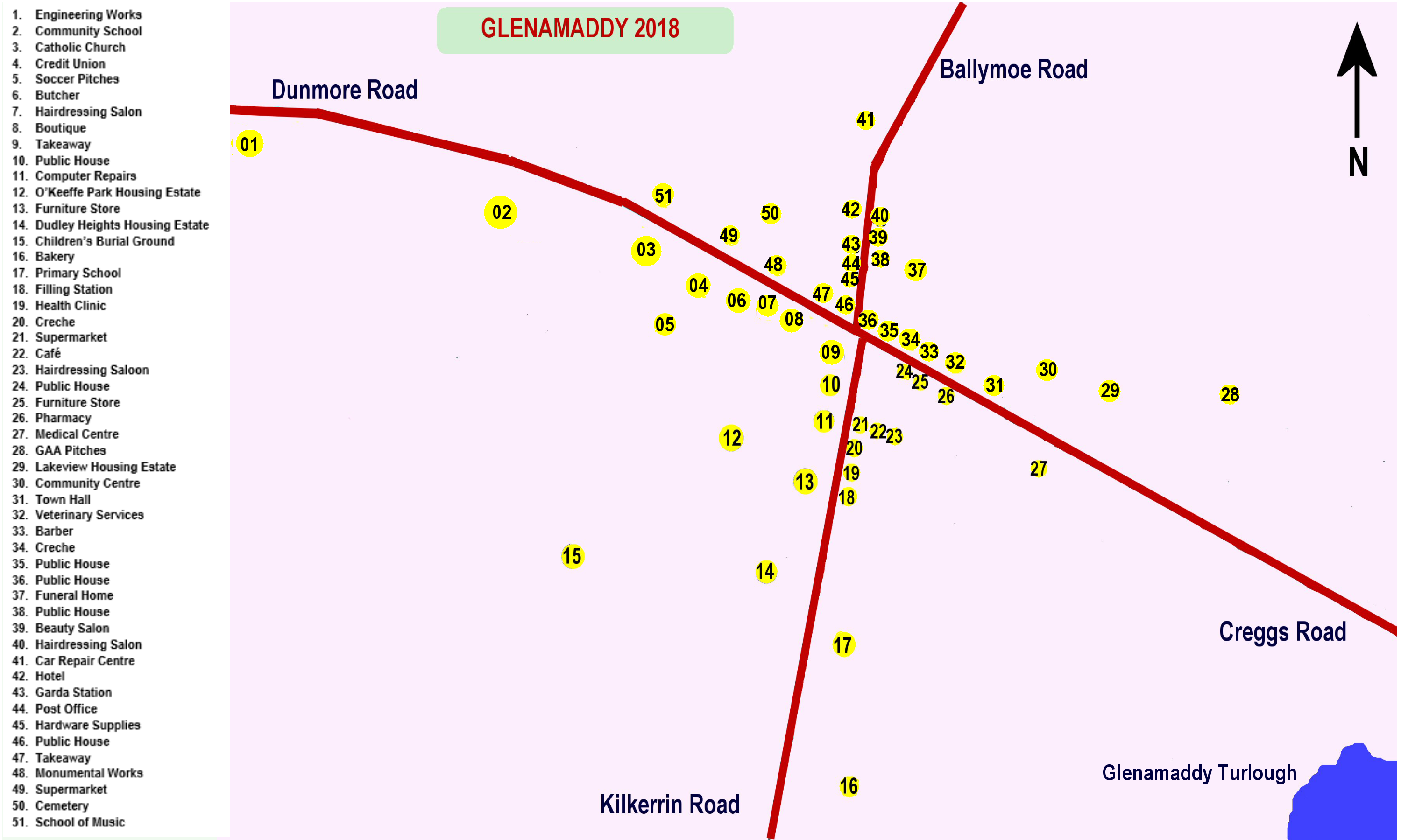 2018_GlenamaddyTown Map