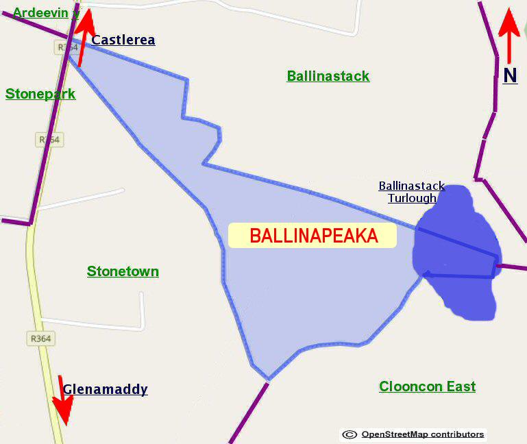 Ballinapeaka Townland
