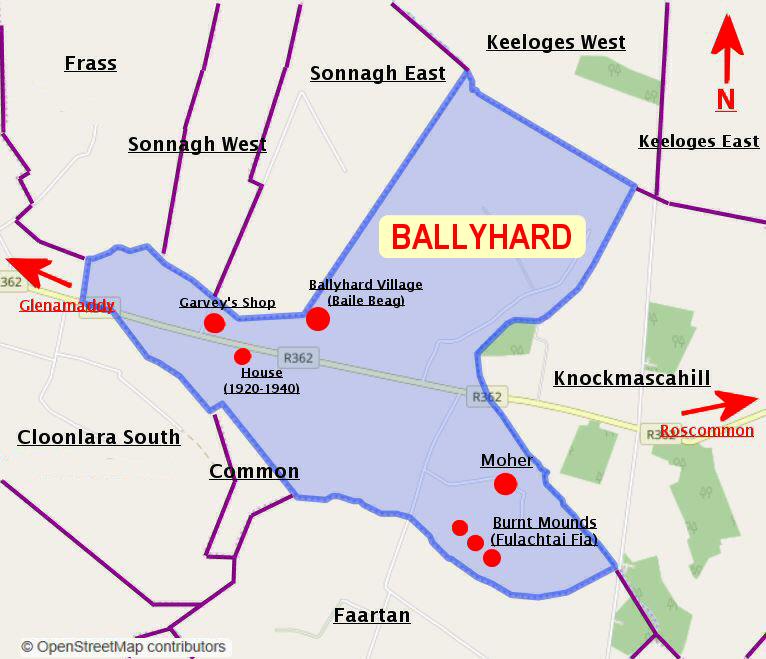 Ballyhard Townland