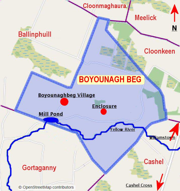 Boyounagh Beg Townland