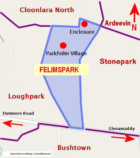 Felimspark Townland