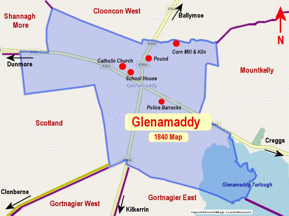 Glenamaddy Townland