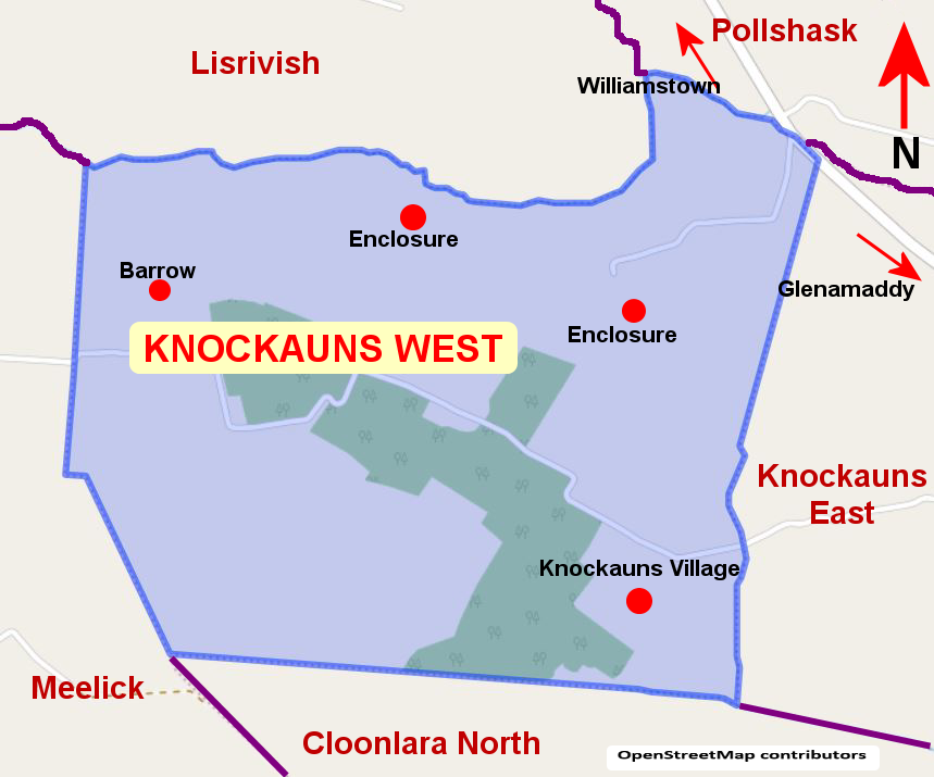 Knockauuns West Townland