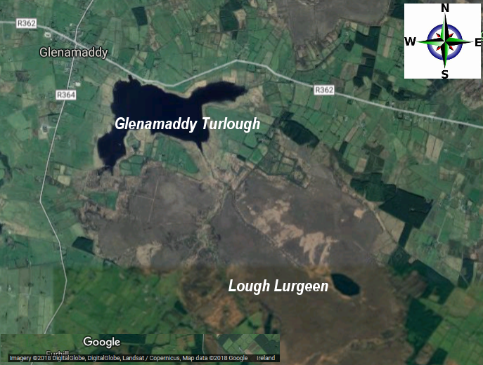 Lough Lurgeen - Aerial View