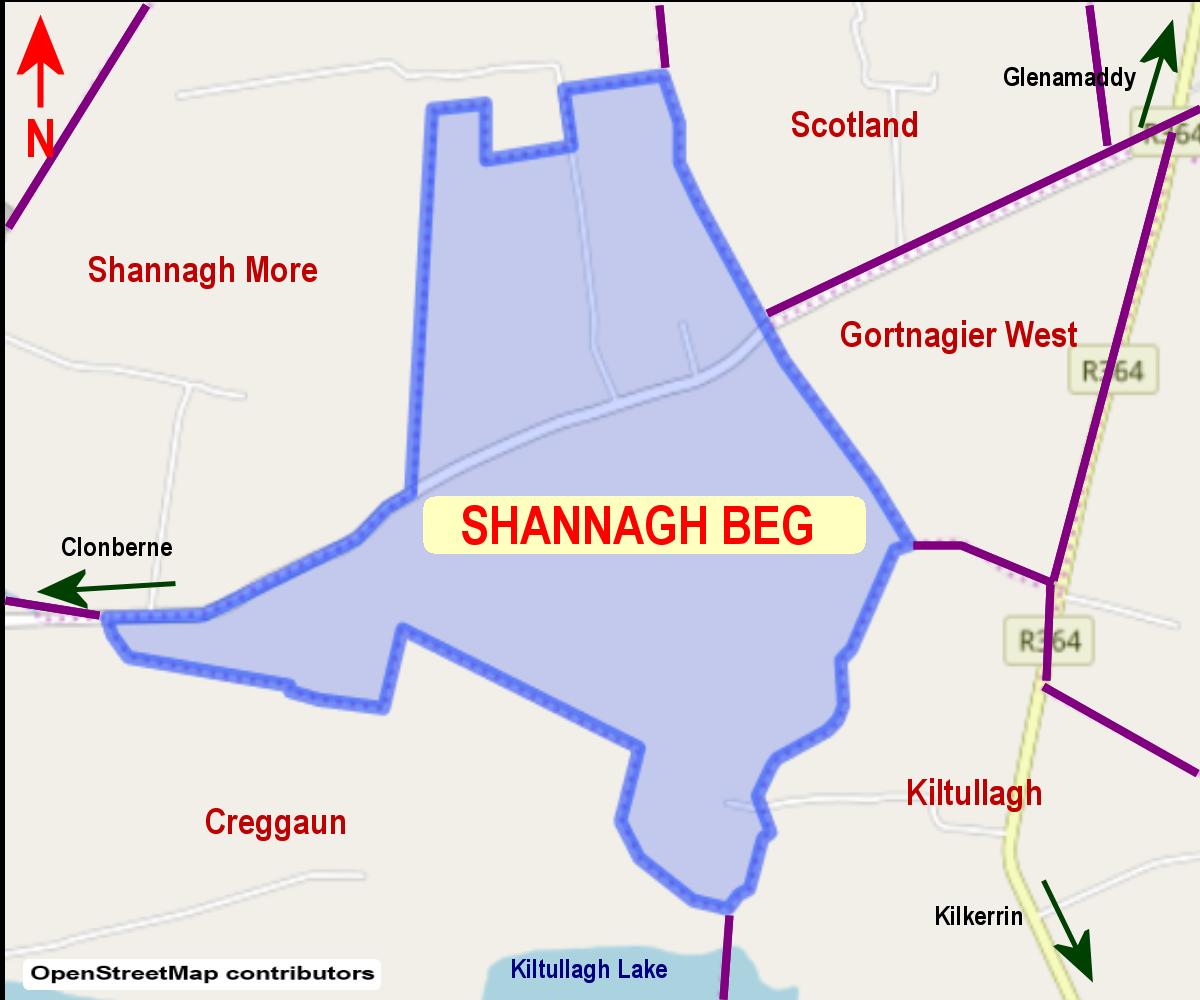 Shannagh Beg Townland