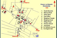 1930_Glenamaddy Town Map
