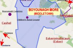 Boyounagh More (Middletown) Townland