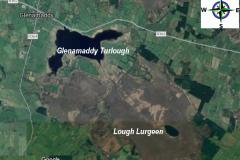 Lough Lurgeen - Aerial View