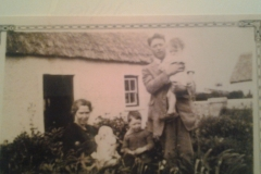 Norah and Martin Gilligan & family, Esker c. 1932
