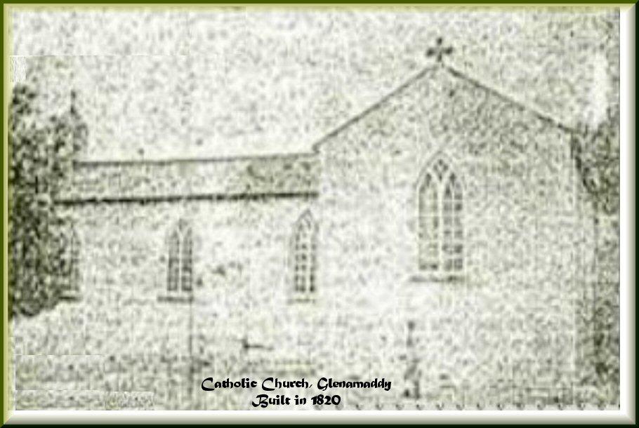 1st Parish Catholic Church opened in 1820
