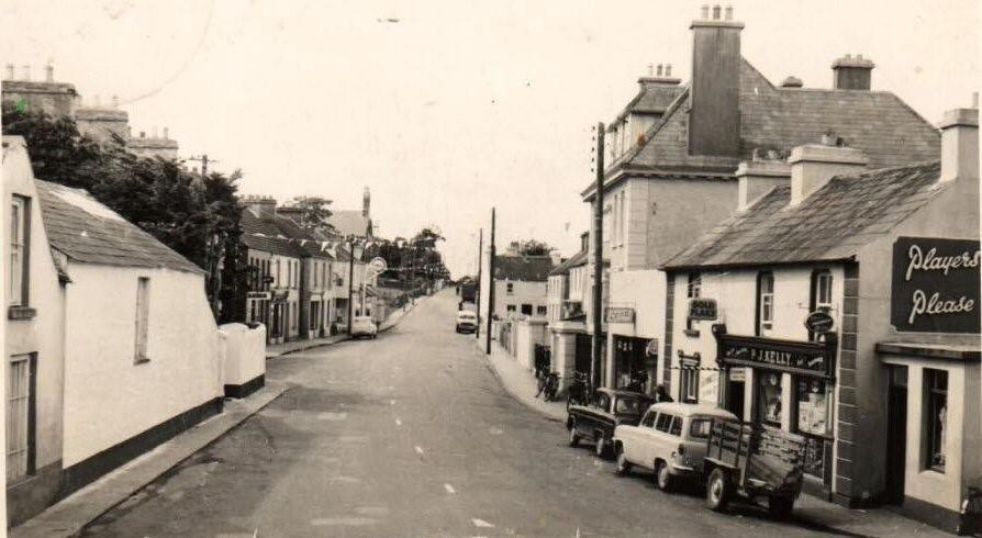 Church Street, looking westward,  c. 1960