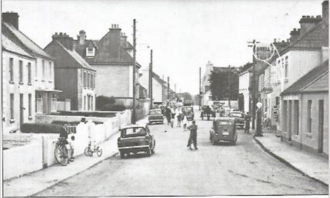 Church Street in the 1960s, looking eastward