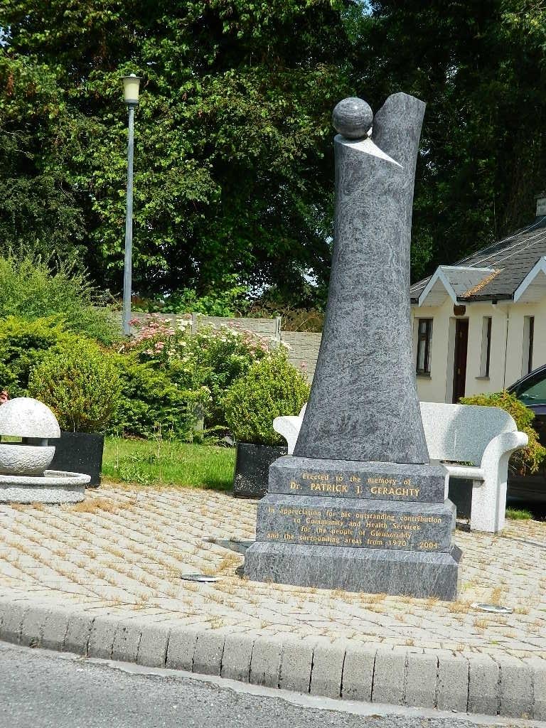 Dr Geraghty Memorial, Creggs Road