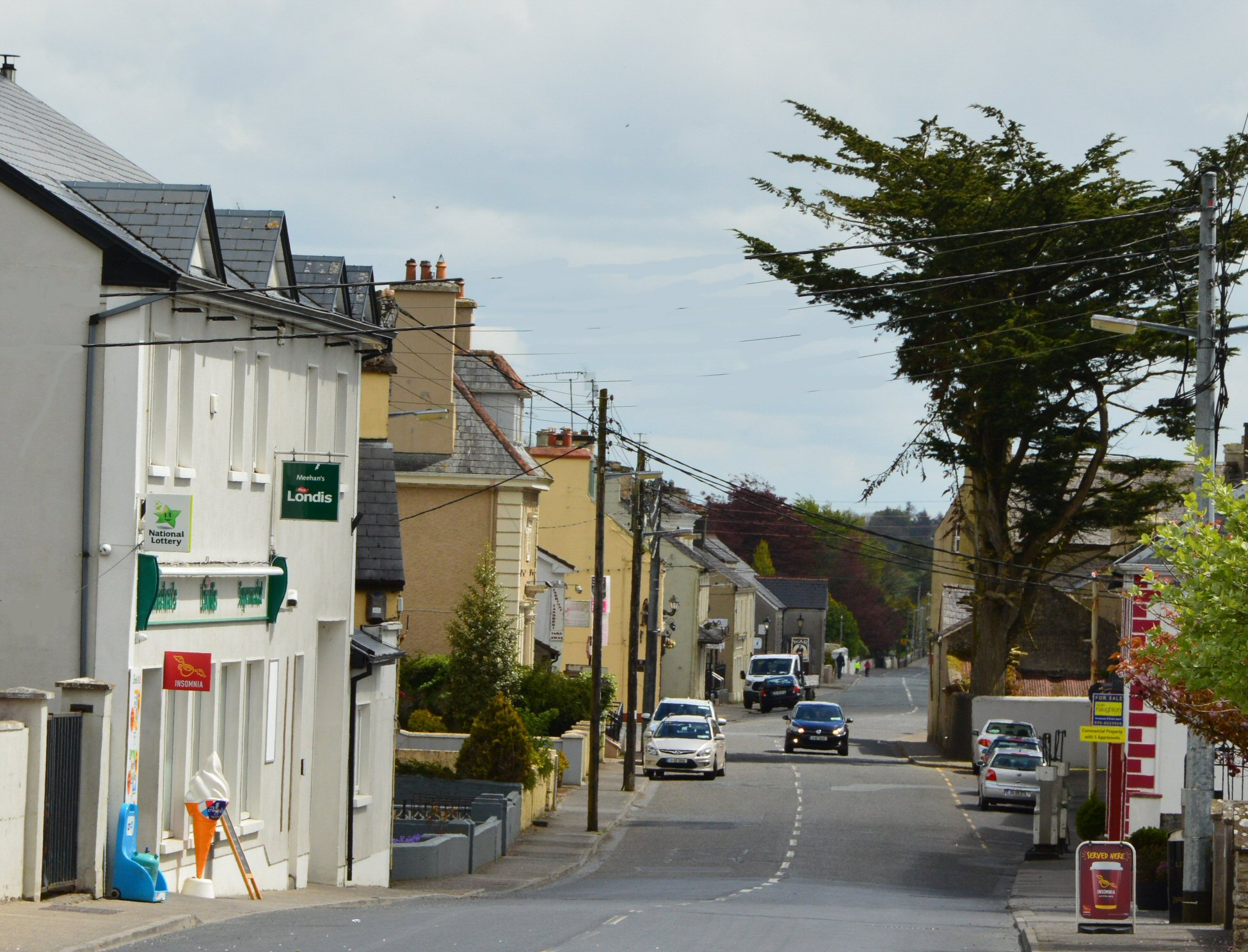 Church Street, looking eastward