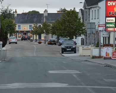 Kilkerrin Road. looking northward