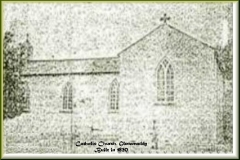 1st Parish Catholic Church opened in 1820