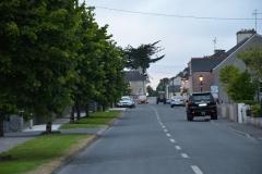 Creggs Road, looking westward