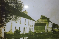 Kilkerrin Road c.1900, taken outside Jim Pete's pub